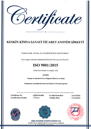 Certification 1